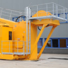 One of the industrial platforms & stairs products we manufacture
